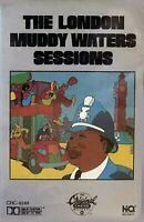 THE LONDON MUDDY WATERS SESSIONS 1989 Orig Chess Cassette Blues Rock Tested VGU