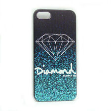 1PC Diamond Quotes Black Sides Slim Hard Plastic Case Cover For iPhone5 5 5G 5S