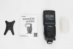 Canon Speedlite 600EX-RT Flash EXCELL+ EOS DIGITAL Camera 600 EX 5D 7D 80D Rebel