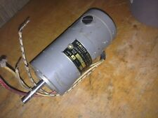Vintage Hamilton COLLINS RADIO 1/10hp Electric Motor Aircraft Blower 27vdc
