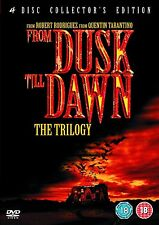 From Dusk - Till Dawn Trilogy Box Set Harvey Keitel, George Clooney New UK DVD