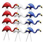 Bloem Red White & Blue American Mingo Flamingo Yard Stakes