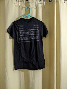 Troy Lee TLD Gas Team Tee Shirt Adult Black Small