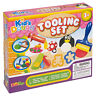 15 Pc Tooling Play Kids  Dough Set Shapes Modelling Tubs Craft Toys Gift Xmas