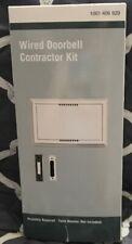 Wired Door Bell Deluxe Contractor Kit 1001406920