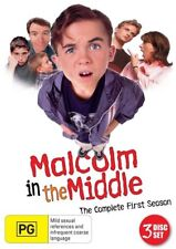 Malcolm In The Middle : Season 1 (DVD, 2012, 3-Disc Set)