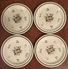 """Royal Doulton England Lambethware CORNWALL LS1015 Set/4 Salad Plates 8 5/8"""""""
