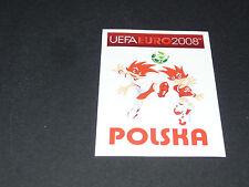 N°228 MASCOTTES POLOGNE POLSKA PANINI FOOTBALL UEFA EURO 2008