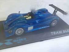 SCALEXTRIC LOLA B98/10 AZUL TEAM SLOT CAR SCX