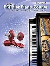 ALFRED'S PREMIER PIANO COURSE TECHNIQUE LEVEL 3 MUSIC BOOK BRAND NEW ON SALE!!