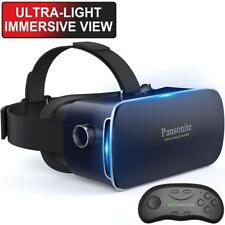 a61b002218 Pansonite 3D VR Glasses Virtual Reality Headset with Remote Controller and.