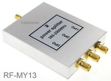 3-Way SMA 1F/3F 380-2500MHz wifi Signal Power Repeater Splitter, RF-MY13
