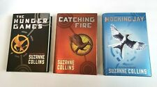 The Hunger Games Book Set HC Suzanne Collins Catching Fire MockingJay TRILOGY