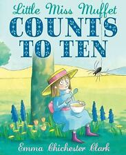 Little Miss Muffet Counts to Ten-ExLibrary