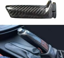 Real Carbon Fiber Handbrake Brake Handle Cover FOR BMW E46 E90 E92 F30 F32 F80