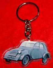 porte-cles voiture 2 chevaux 1 keychain llavero schlusselring