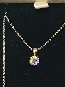 18ct. 750. White Gold 0.65ct.Single Sparkling Diamond Necklace on 18 Inch Chain