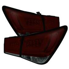 Spyder Light Bar LED Tail Lights Red Smoke for 11-15 Chevy Cruze & 2016 Limited