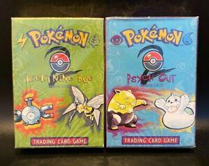 Pokémon TCG Base Set 2 Lightning Bug, Psych Out Theme Decks SEALED