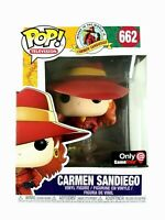 Funko Pop! Carmen Sandiego Where In The World Is Fading