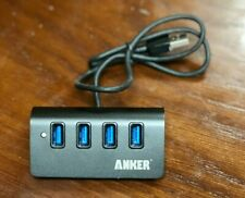 Anker Aluminum 4-Port USB 3.0 Hub With 2ft USB 3.0 Cable