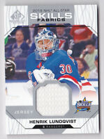 2018-19 SP Game Used '18 All Star Skills Fabrics #ASHL Henrik Lundqvist Jersey