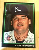 MLB UMPIRE Jerry Crawford Autographed Hand Signed T&M Sports Card #28