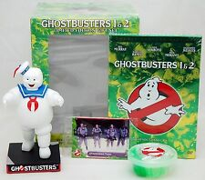 NEW Ghostbusters 1 & 2 Limited Edition DVD Movie Gift Set Marshmallow Man FIGURE