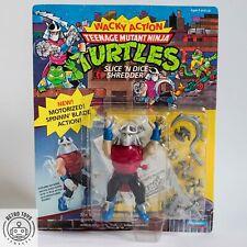 Teenage Mutant Ninja Turtles - Slice n Dice Shredder MOC Unpunched TMNT resealed