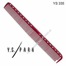 Y S Park Comb YS - 335 RED Hairdressing High Quality Cutting Comb