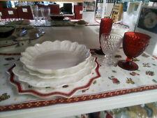 Villeroy & Boch Toy's Delight Royal Classic Servizio Piatti 18 Pz,Bianco-Natale