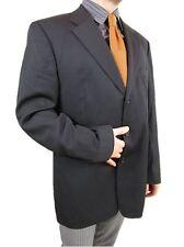 HUGO BOSS Men's Super 100 Wool Vtg Tailored Tweed Suit Jacket Blazer EU 56 AS20