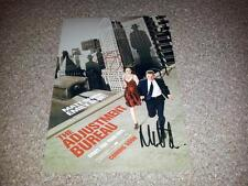"THE ADJUSTMENT BUREAU PP SIGNED 12"" X 8"" A4 PHOTO POSTER MATT DAMON EMILY BLUNT"