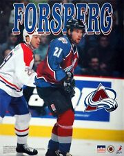 Peter Forsberg Colorado Avalanche 16x20 Starline Poster OOP