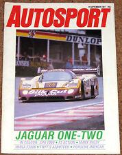Autosport 17/9/87* IMOLA F3000 - WSPC SPA - F3 SPA - MANX RALLY - McRAE POSTER