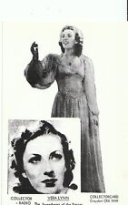 Entertainment Postcard - Vera Lynn - The Sweetheart of The Forces  U585