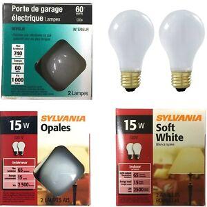 Sylvania INCANDESCENT GLOBE Bulb, 120 VOLTS, MEDIUM BASE  2 Bulb/Pack (6 Packs)