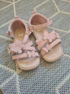 H&M Girls sandals Size UK 6,eu 23