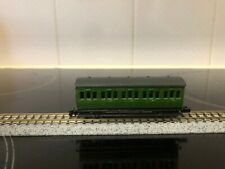 N gauge Graham Farish 4 wheel green  Lined SR Southern coach