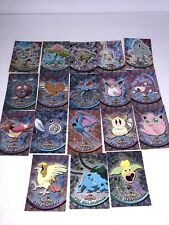 Lot Of 14 Topps Pokemon Cards 2 Foil Holo Cards included Topps Chrome! 14 Total
