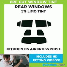 Rear Kit in 5/% Limo Pre Cut Car Window Tints Citroen C8 5 Door MPV 2002-2014
