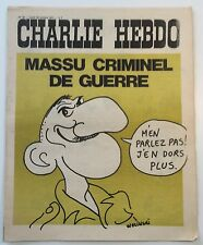 CHARLIE HEBDO n°49 ¤ 1971 ¤ Couv WOLINSKI / CABU / REISER