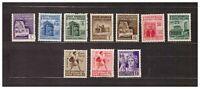 s33561) ITALIA RSI DEALER STOCK 1944 MNH** Monumenti distrutti 10v (X10 SETS)
