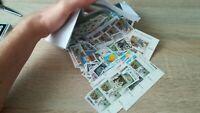 Tüte DDR Briefmarken nur 1990 rund 350 Stuck
