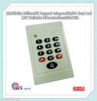 Weatherproof 13.56Mhz MF1 S50 keypad WG26/34 RFID Access Control Card READER