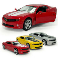 Chevrolet Camaro 1/36 Model Car Alloy Diecast Gift Toy Vehicle Kids Pull Back