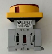 Allen Bradley Switch Disconnector with handle 194E-E25-1753 Ser B
