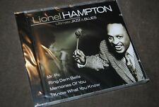 "LIONEL HAMPTON ""Ultimate Jazz & Blues"" NEW & SEALED CD / CENTURION - 30001-27"