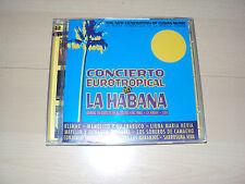 CD  CONCIERTO EUROTROPICAL en LA HABANA