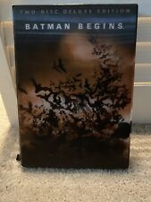 Batman Begins, Two Disc Deluxe Edition, Hologram Cover (Dvd, 2005)